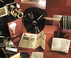 Bethel display: historical preaching equipment